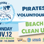 Join the Pirates Voluntourism Beach Clean Up