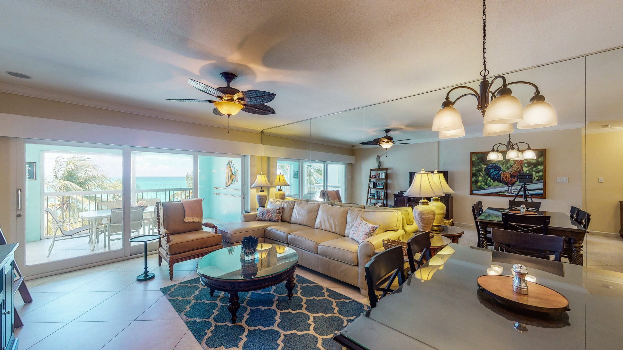 Living Room - Kitchen - Coral Stone Club, Cayman